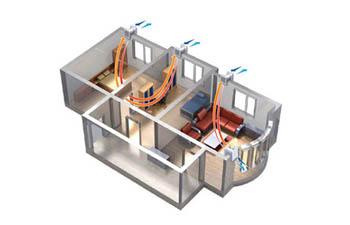 Le caratteristiche costruttive di Residenza Ferraris - ventilazione meccanica controllata
